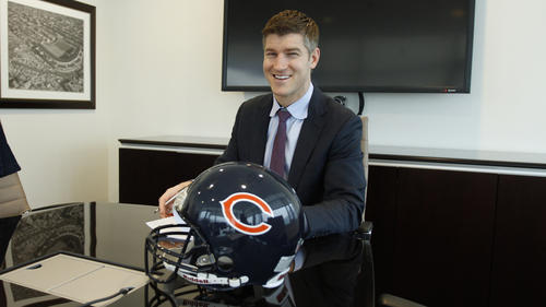 Ryan Pace, Chicago Bears new General Manager