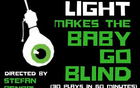 Official poster for Too Much Light Makes the Baby Go Blind